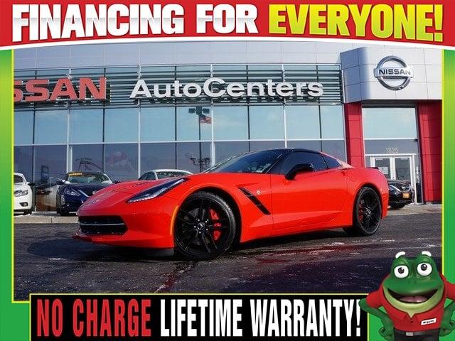 Photo Used 2014 Chevrolet Corvette Stingray Z51 1LT - BOSE Audio - 20 Inch Black Wheels For Sale Near St. Louis