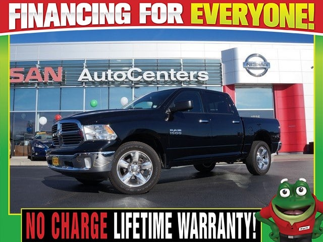 Photo Used 2015 Ram 1500 Big Horn 4WD - Tow Package - Chrome Wheels For Sale Near St. Louis