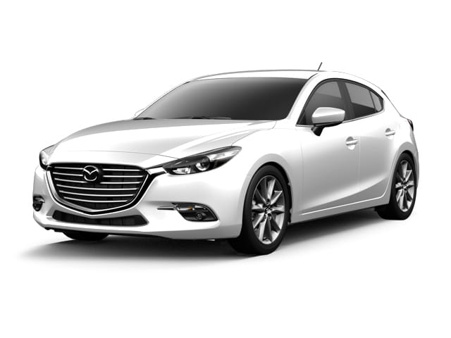 Photo 2017 Certified Used Mazda Mazda3 Hatchback Grand Touring Snowflake White Pearl Mica For Sale Manchester NH  Nashua  Stock3M7138L