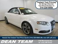 Used 2008 Audi S4 2dr Cabriolet Man Cabriolet Man in St. Louis, MO