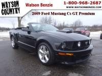 2009 Ford Mustang Cs GT Premium GT Premium Convertible