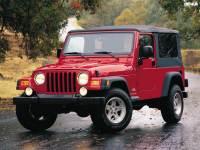 2004 Jeep Wrangler Sahara SUV