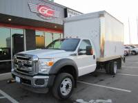 2012 Ford F-450 DRW V10 Box Truck Lift XLT