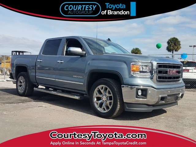 Photo Pre-Owned 2015 GMC Sierra 1500 Truck Crew Cab in Jacksonville FL
