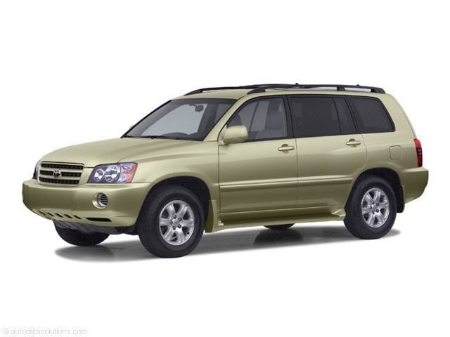 Photo Used 2002 Toyota Highlander Limited V6 For Sale in Sunnyvale, CA