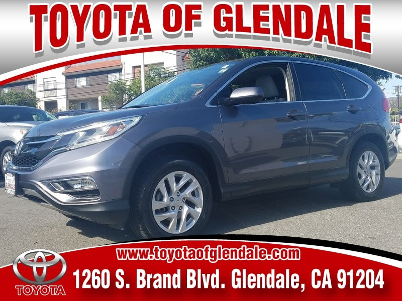 Photo Used 2015 Honda CR-V, Glendale, CA, , Toyota of Glendale Serving Los Angeles  2HKRM3H59FH532064