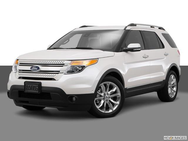 Photo Used 2015 Ford Explorer Limited SUV for Sale in Greenville, TX