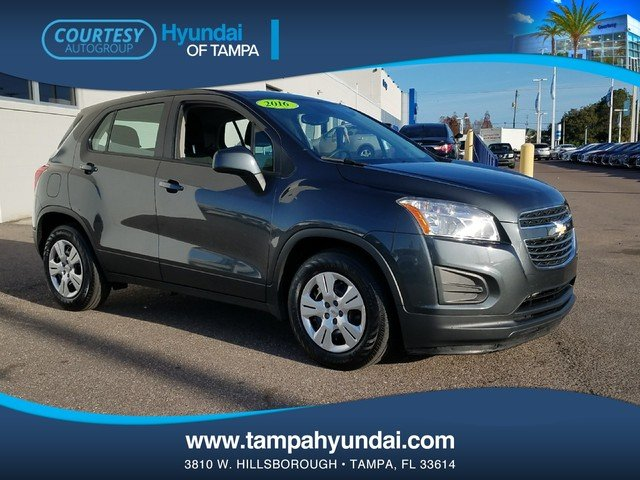Photo Pre-Owned 2016 Chevrolet Trax LS SUV in Tampa FL