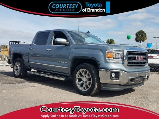 Photo Pre-Owned 2015 GMC Sierra 1500 Truck Crew Cab near Tampa FL