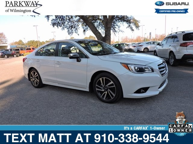 Photo Certified Used 2017 Subaru Legacy 2.5i Sport For Sale  Wilmington NC