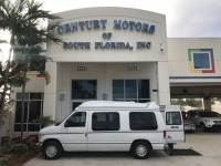 1999 Ford Econoline Cargo Van Recreational Handicap Van Handicap Lift