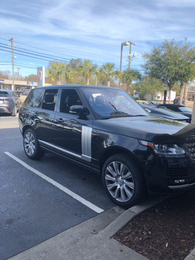 Photo Pre-Owned 2014 Land Rover Range Rover Supercharged Four Wheel Drive SUV