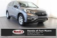 2015 Honda CR-V EX-L 2WD 5dr w/Navi in Fort Myers
