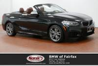 Certified Used 2015 BMW 2 Series Convertible in Fairfax, VA