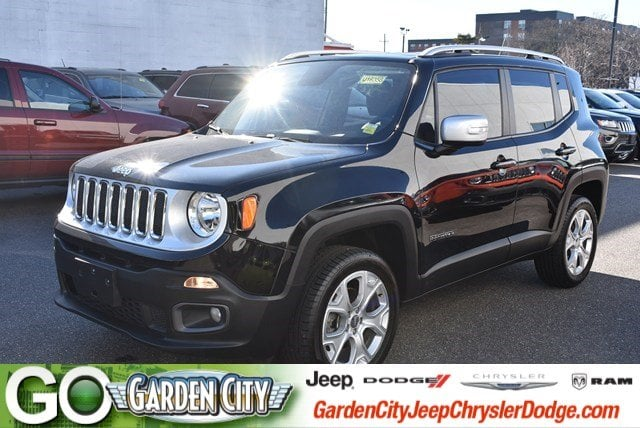 Photo Certified Used 2016 Jeep Renegade Limited 4WD Limited For Sale  Hempstead, Long Island, NY