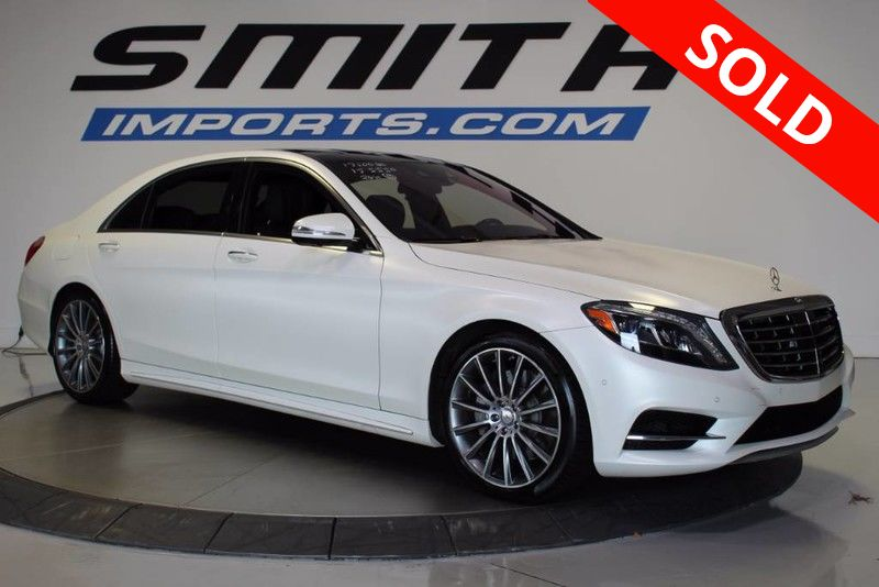 Photo 2015 Mercedes-Benz S-Class S 550 23K OPTIONS,DRIVER ASSIST PKG, AMG WHEELS, DISTRONIC PLUS