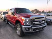 Used 2015 Ford Super Duty F-250 SRW 4X4 LARIAT LOW MILE TURBO DIESEL PERFECT IN AND OU in Ardmore, OK