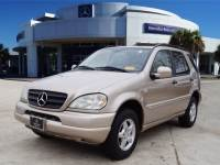 Pre-Owned 2001 Mercedes-Benz M-Class ML Four Wheel Drive SUV