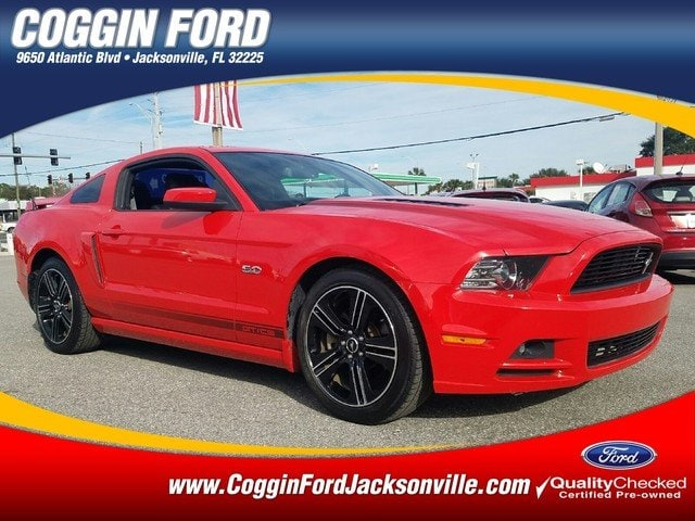 Photo Certified 2013 Ford Mustang GT Premium Coupe in Jacksonville FL
