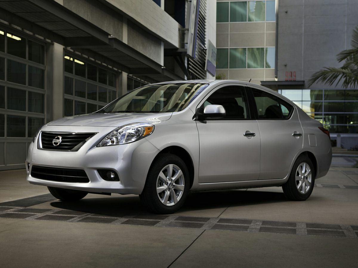 Photo Pre-Owned 2012 Nissan Versa 1.6 SV Sedan For Sale  Raleigh NC