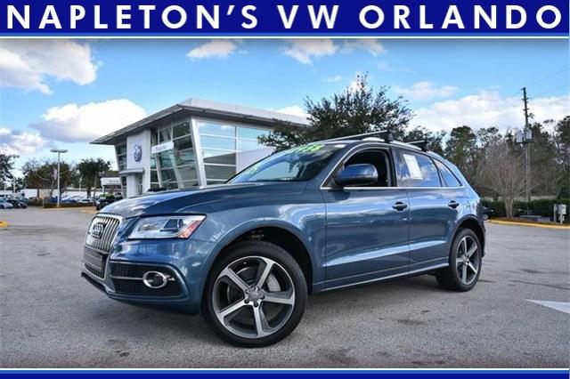 Photo Used Audi Q5 3.0T in Orlando, Fl.