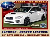 2015 Subaru WRX Limited AWD - SUNROOF - HEATED LEATHER!