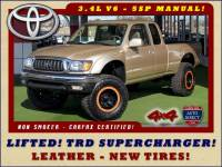 2004 Toyota Tacoma SR5 Xtracab 4x4 - LIFTED - SUPERCHARGED!