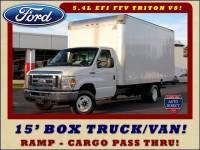 2016 Ford E-Series Cutaway DRW E350 15' BOX TRUCK/VAN