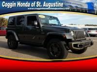 Pre-Owned 2017 Jeep Wrangler JK Unlimited Sahara SUV in Jacksonville FL