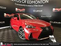 Pre-Owned 2018 Lexus IS 350 DEMO UNIT - F SPORT SERIES 2 All Wheel Drive 4 Door Car