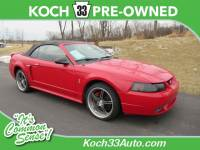 Pre-Owned 1999 Ford Mustang Cobra RWD 2D Convertible