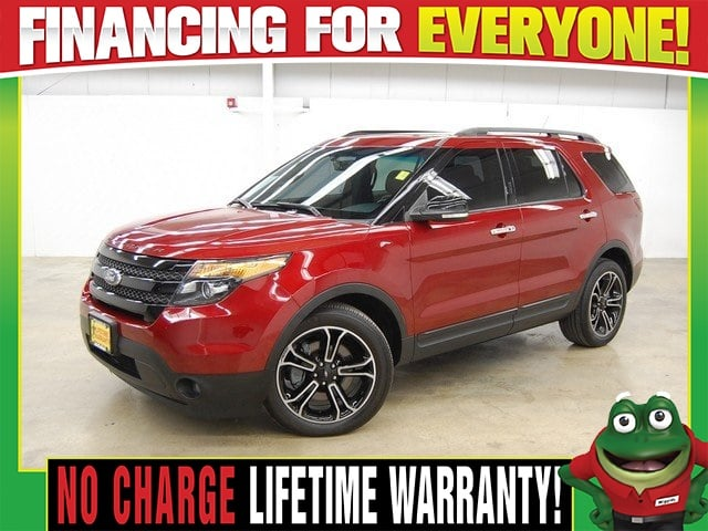 Photo 2013 Ford Explorer Sport 4WD - THIRD ROW - HEATEDCOOLED LEATHER SUV