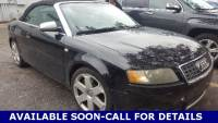 Used 2004 Audi S4 Base Convertible in Commerce Township