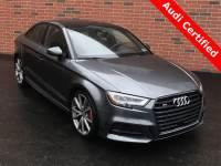 Pre-Owned 2017 Audi S3 For Sale near Pittsburgh, PA | Near Greensburg, McKeesport, & Monroeville, PA | VIN:WAUF1GFF7H1048058