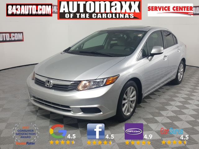 Photo Used 2012 Honda Civic EX for sale in Summerville SC