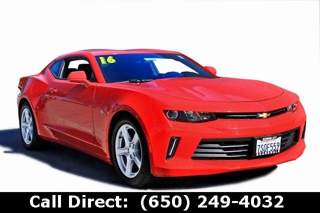 Photo Used 2016 Chevrolet Camaro For Sale  Redwood City CA