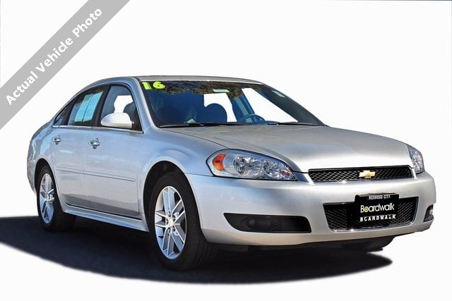 Photo Used 2016 Chevrolet Impala Limited For Sale  Redwood City CA