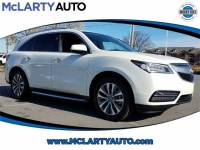 Pre-Owned 2016 Acura MDX MDX SH-AWD with Technology in Little Rock/North Little Rock AR