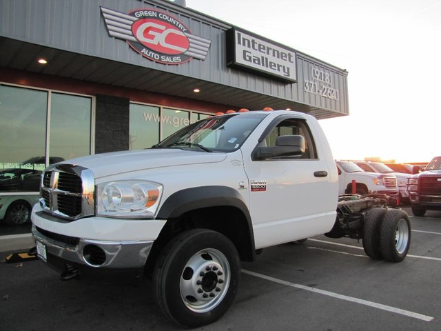 Photo 2009 Dodge Ram 5500 4x4 Diesel Cab  Chassis ST