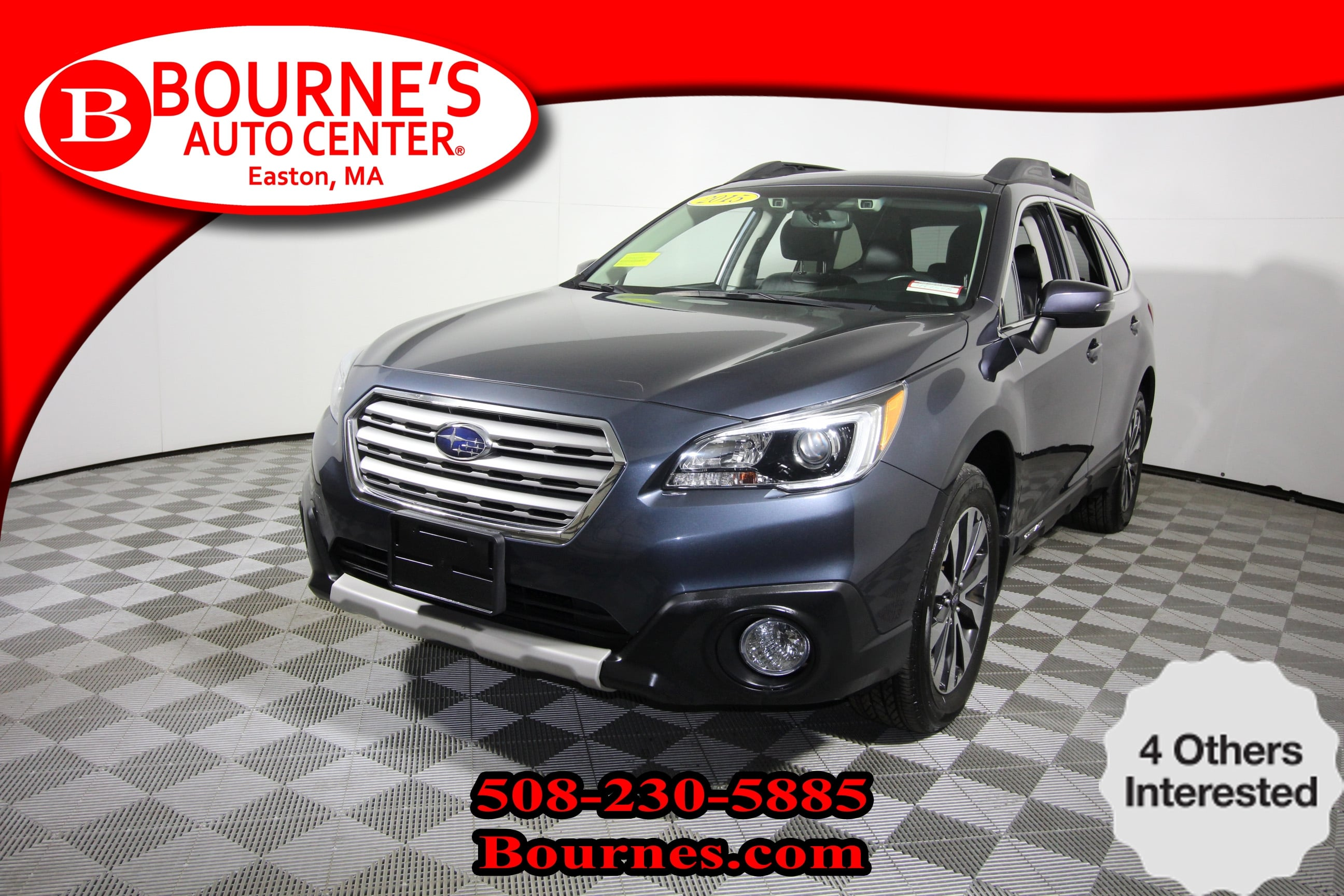 Photo 2015 Subaru Outback 2.5i Limited CVT wNavigation,Leather,Sunroof,He