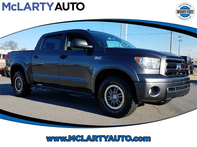 Photo Pre-Owned 2012 Toyota Tundra 5.7L V8 wFFV CrewMax 4x4 in Little RockNorth Little Rock AR