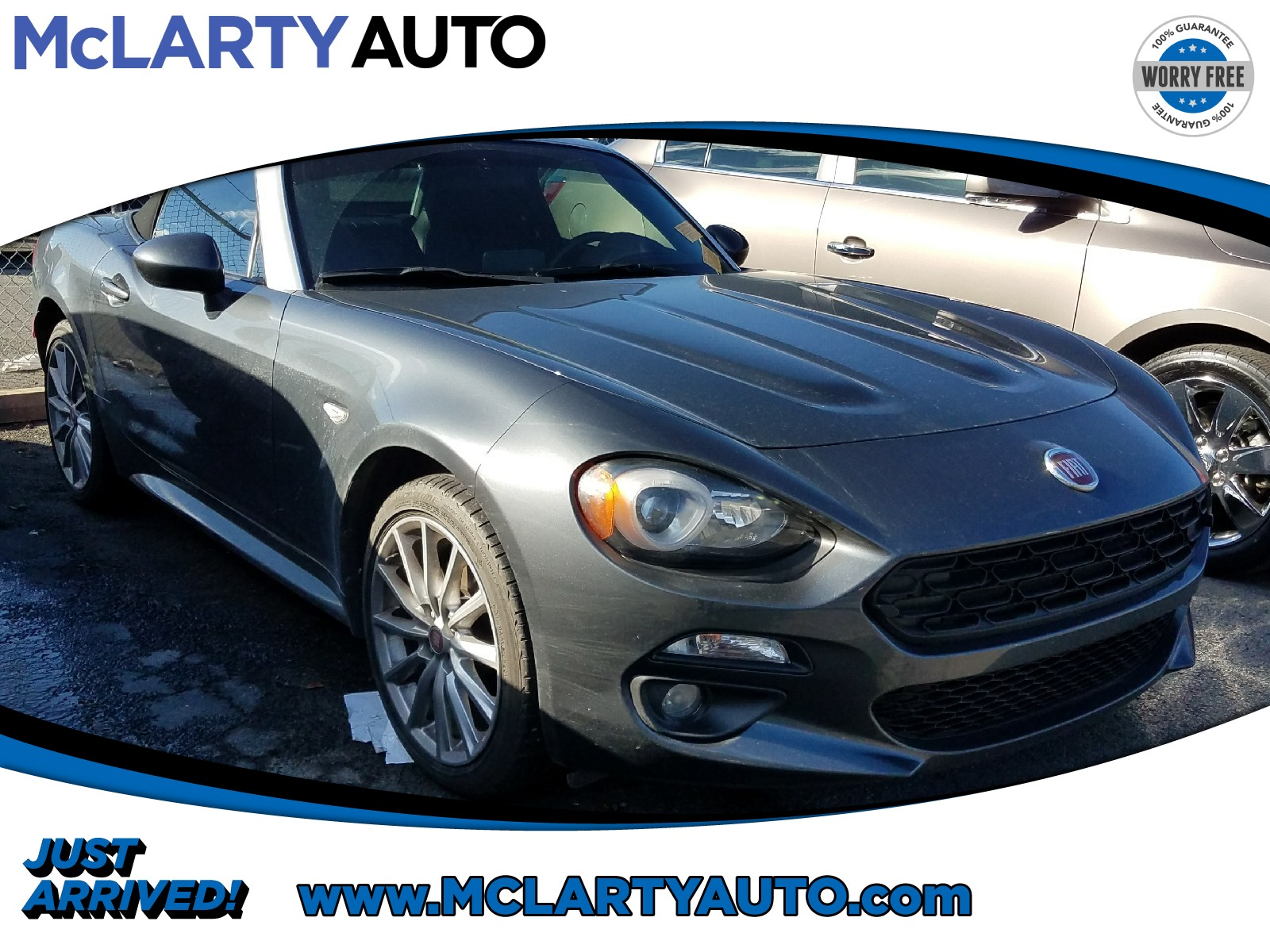 Photo Pre-Owned 2017 FIAT 124 Spider in Little RockNorth Little Rock AR