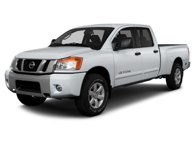 Photo Used 2014 Nissan Titan For Sale  Davis CA