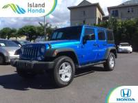 Used 2016 Jeep Wrangler JK Unlimited Sport in Kahului