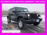 2016 Jeep Wrangler JK Unlimited Sport SUV