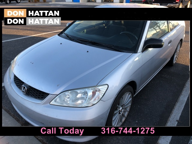 Photo Pre-Owned 2004 Honda Civic VP FWD 2D Coupe