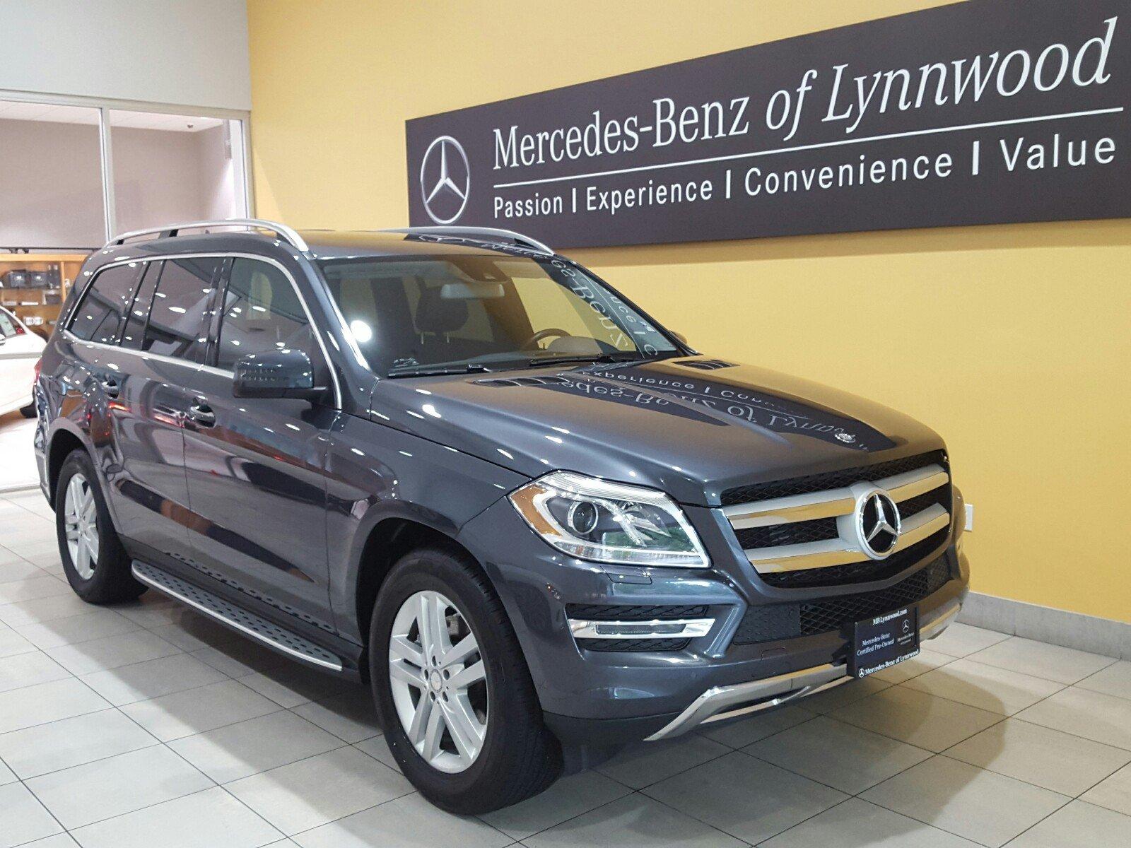 Photo Certified Pre-Owned 2014 Mercedes-Benz GL 350 BlueTEC 4MATIC