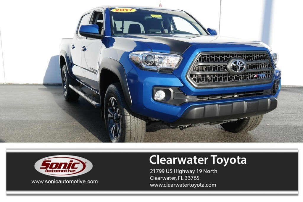 Photo 2017 Toyota Tacoma SR5 Double Cab 5 Bed V6 4x2 AT Natl Truck Double Cab in Clearwater