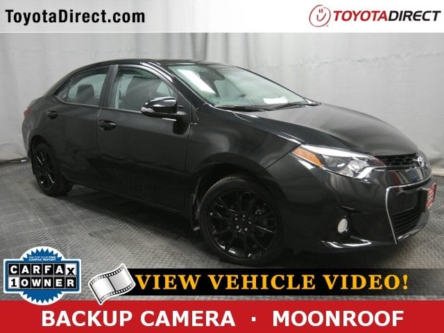 Photo 2016 Toyota Corolla S wSpecial Edition Pkg Sedan Front-wheel Drive
