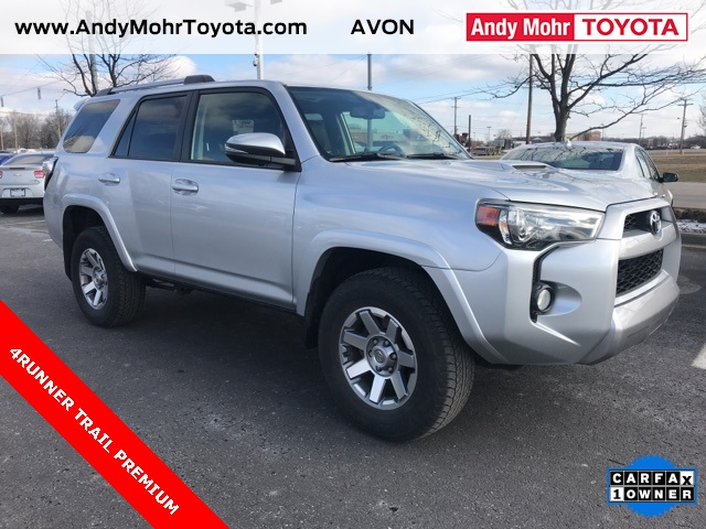 Photo Certified Pre-Owned 2015 Toyota 4Runner Trail Premium 4WD 4D Sport Utility